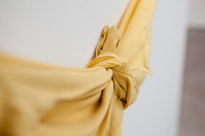 Jo McGonigal, Yellow Yellow, 2015, detail