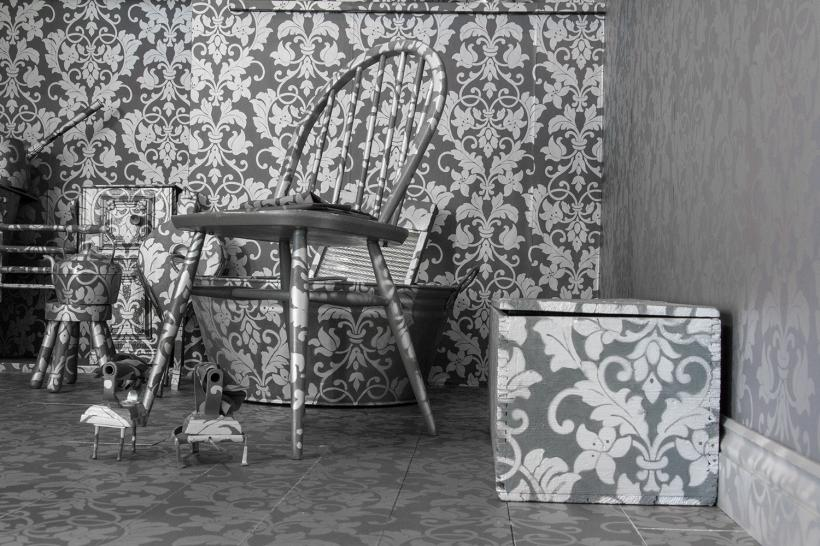Julie McCalden, Working from Home, Installation view