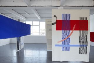 Installation view, OVER AND OVER PURE FORM