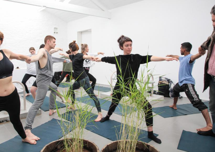 Yoga & Meditation workshop, Mayan Patel, 2015, 60 minute yoga and meditation session