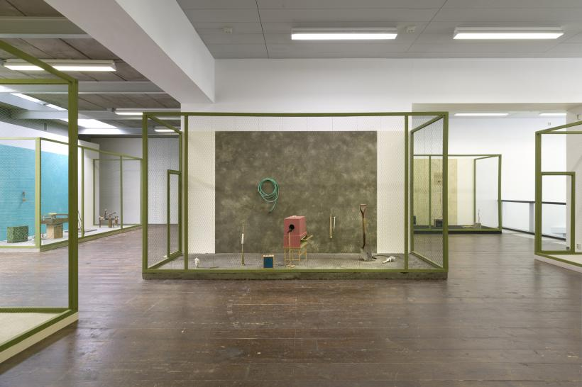 A Burning Bag as a Smoke-Grey Lotus, Installation view at Stroom Den Haag, 2015