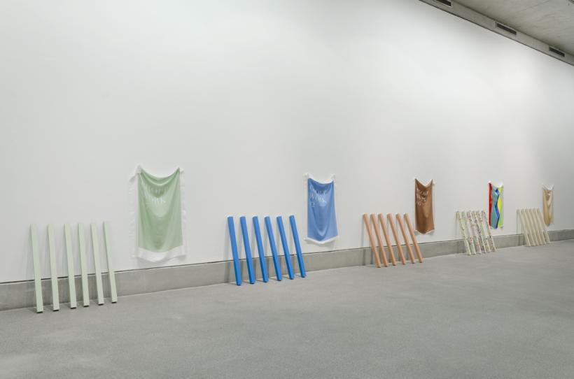 Ben Cain, Group Work #7, #2, #6, #3, #1, 2015. Image courtesy the artist and Supplement Gallery. RESOURCE, installation view at Bluecoat