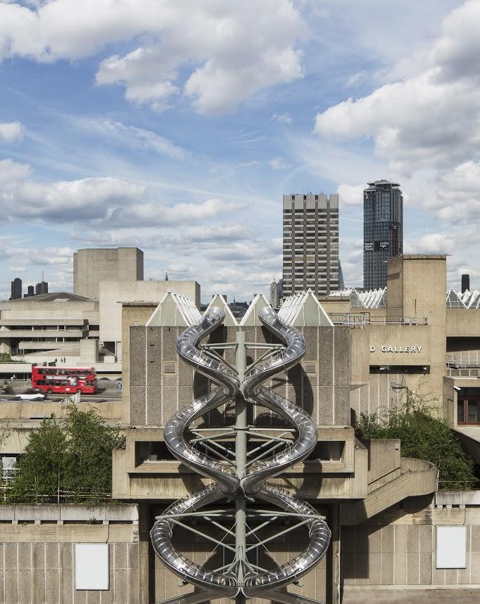 Isomeric Slides, 2015 during installation of Decision at Hayward Gallery