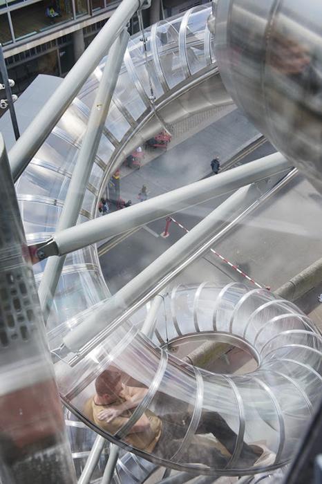 Isomeric Slides, 2015. Installation View, Hayward Gallery, London 2015.