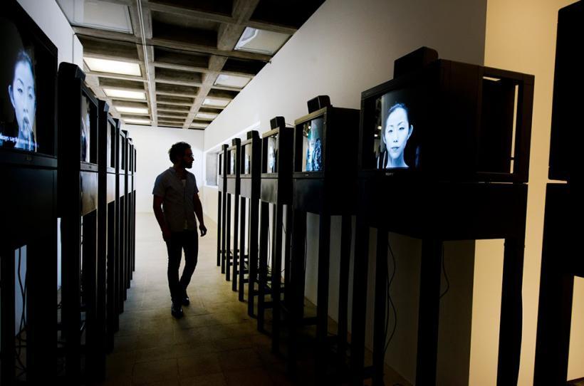Twins (Belgian, London, New York, Paris, Santiago de Chile, Tokyo, Vienna) 2005/2015. Installation View, Hayward Gallery, London 2015.