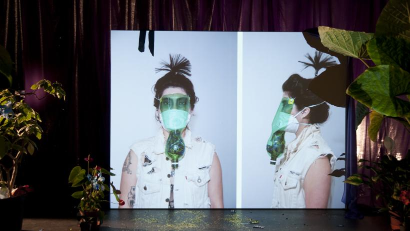Toxic, Performance: Ginger Brooks Takahashi and Werner Hirsch