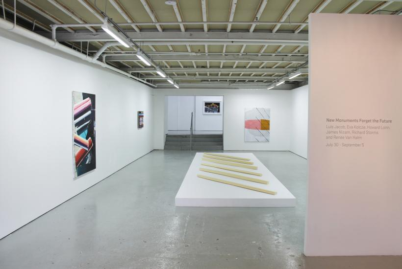 New Monuments Forget the Future installation view at Birch Contemporary 2015