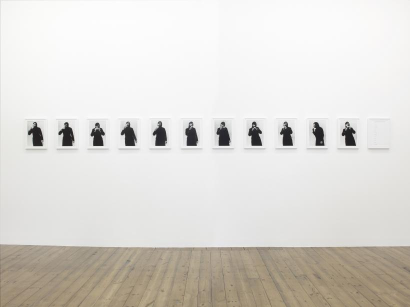 Keith Arnatt, Absence of the Artist, Installation View, Sprueth Magers London, September 1 - September 26, 2015