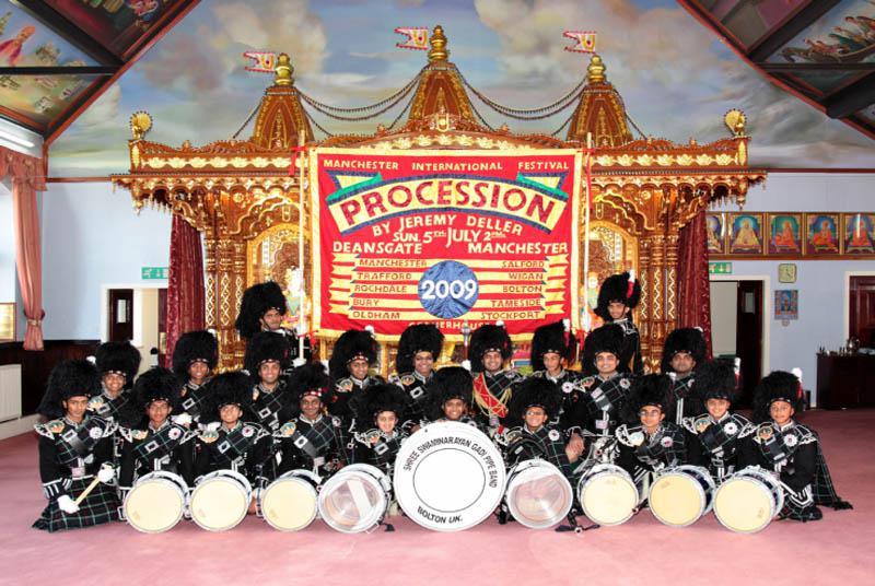 shree swaminarayan gadi pipe band lets go global copy