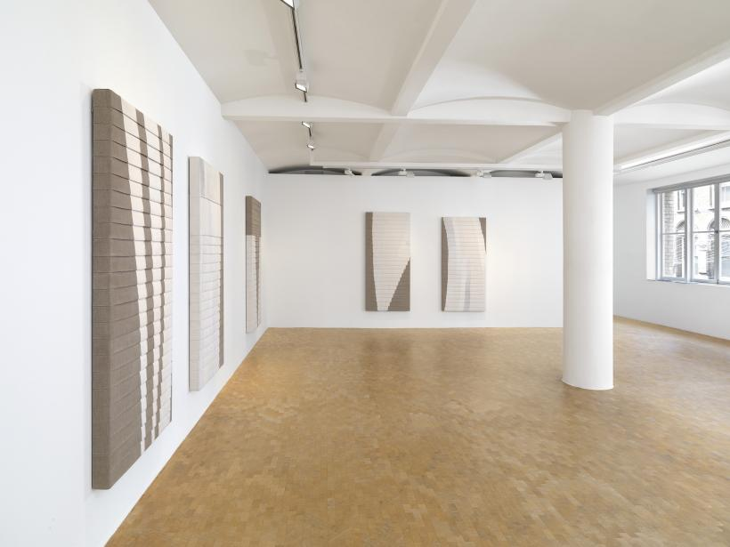 Luke Diiorio, Sunset Park, 2015. Installation view, Pippy Houldsworth Gallery, London