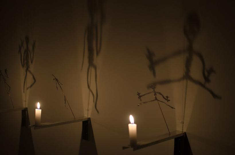 Christian Boltanski, Heartbeats, installation view at Baró Galeria, 2015