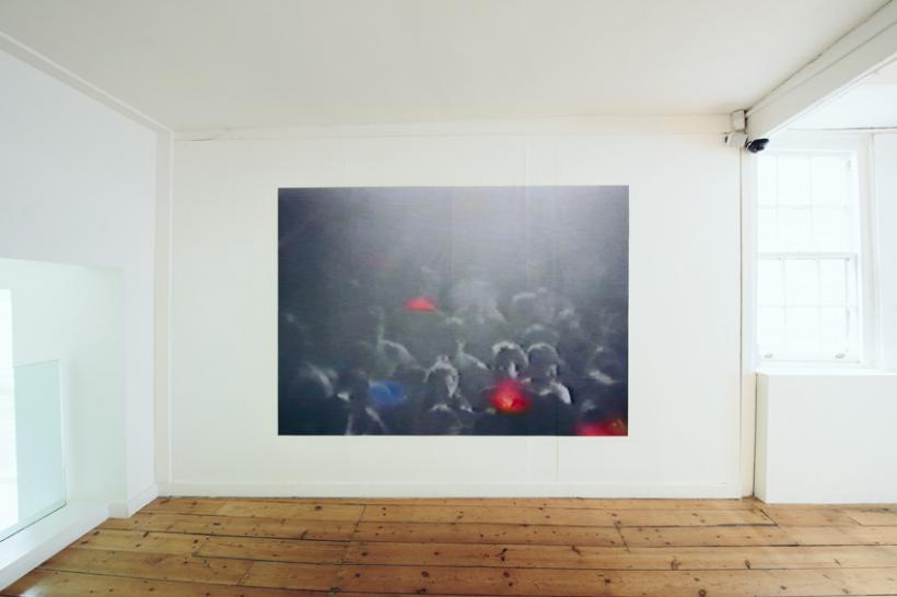 Carl Slater, Crowd.Control, installation view at Plymouth Arts Centre, 2015