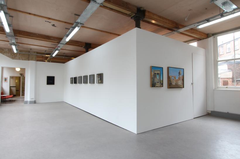Alexander Massouras: Under the Sun, installation view at Syson, 2015