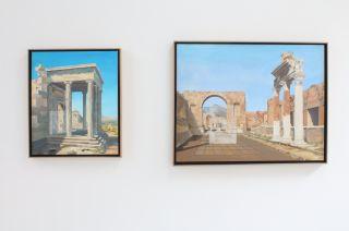 Alexander Massouras: Under the Sun, installation view at Syson, 2015