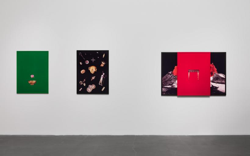 Sarah Charlesworth, Doubleworld, New Museum, New York, Installation view, 2015