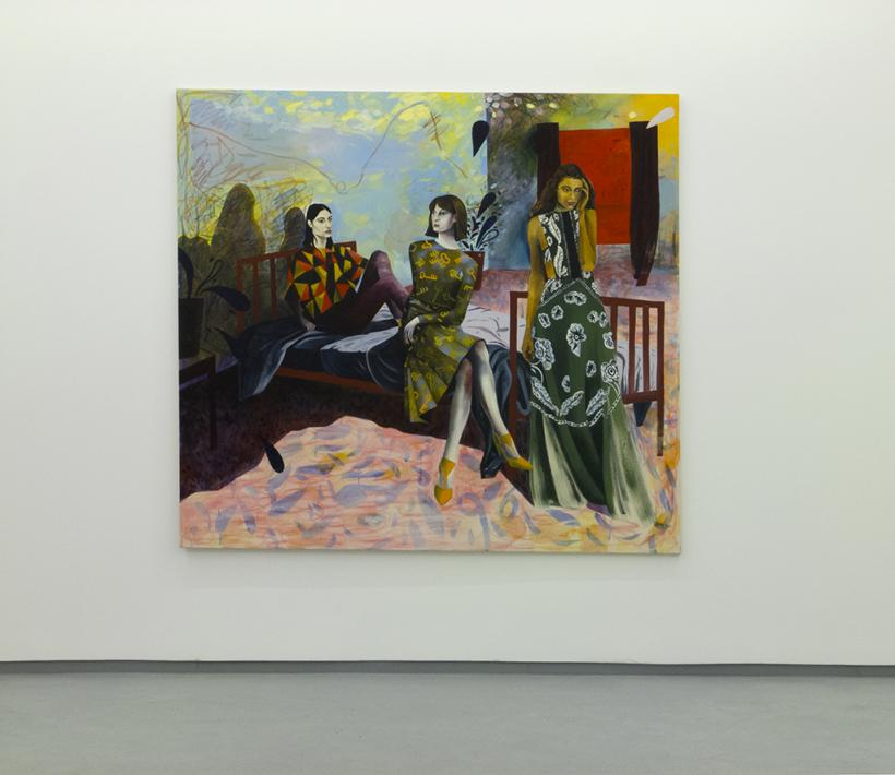 Southampton Way (2015) Jessie Makinson, Oil on canvas, 160 x 200 cm