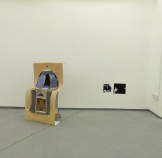 Installation view (from left) Pale Yellow (Observatory) (2015), Kadie Salmon, Mixed Media