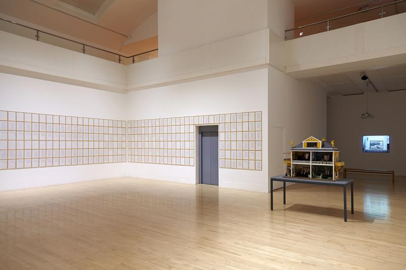 Hanne Darboven: accepting anything among everything, installation view at Talbot Rice Gallery, 2015