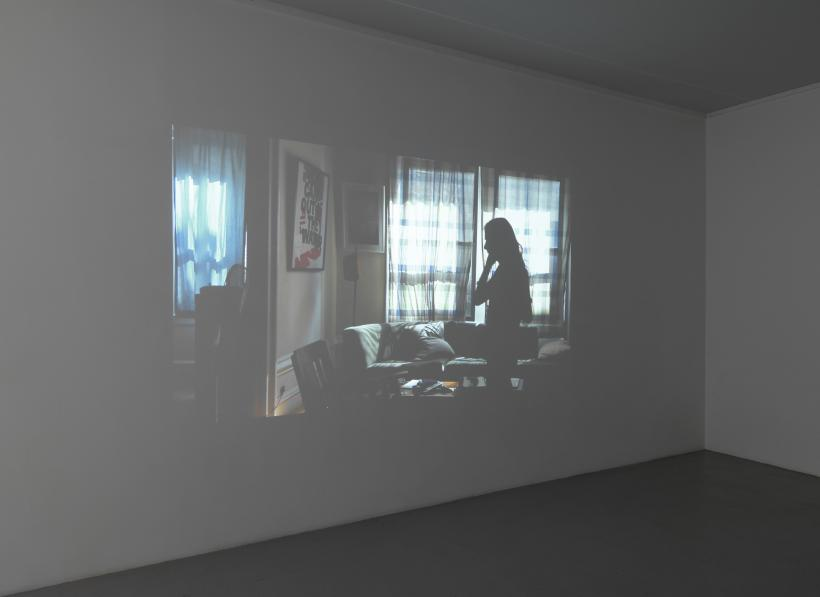 You're a nice guy to let me hold you like this, Installation View