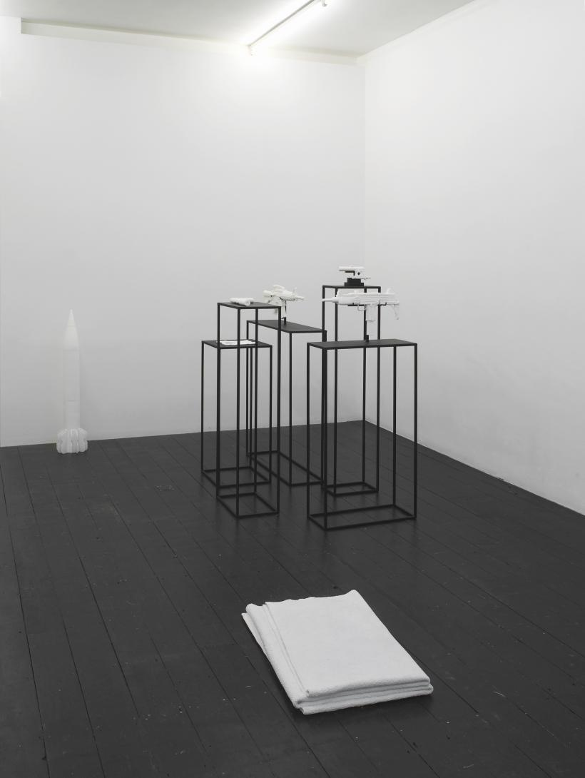 Installation view, Joanna Rajkowska, Painkillers, 2015