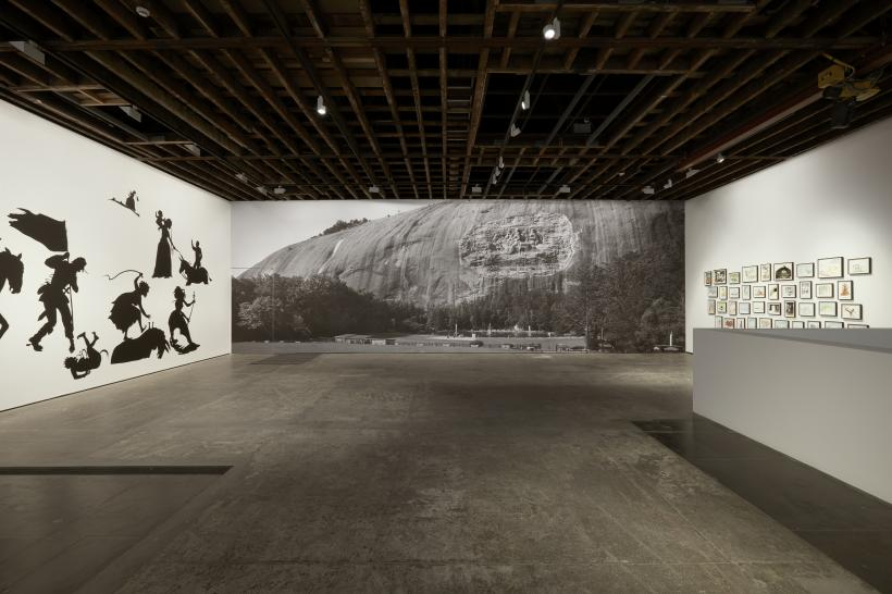 Go to Hell or Atlanta, Whichever Comes First, Installation view