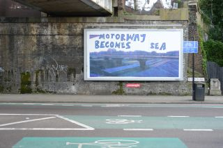 Motorway Becomes Sea