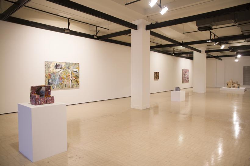 Jeffrey Dennis, Ringbinder installation view, 2015