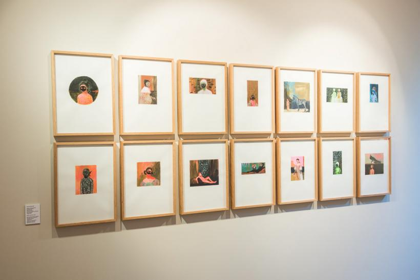 Installation view, The Unversed