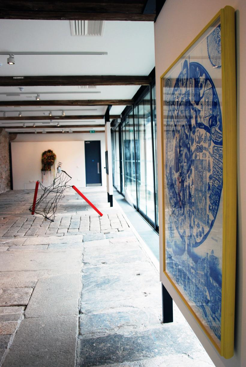 A Taste of Things to Come, installation view at Ocean Studios, 2015