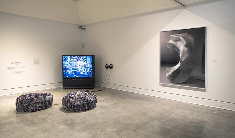 Jon Rafman, 2015 Sobey Art Award installation view