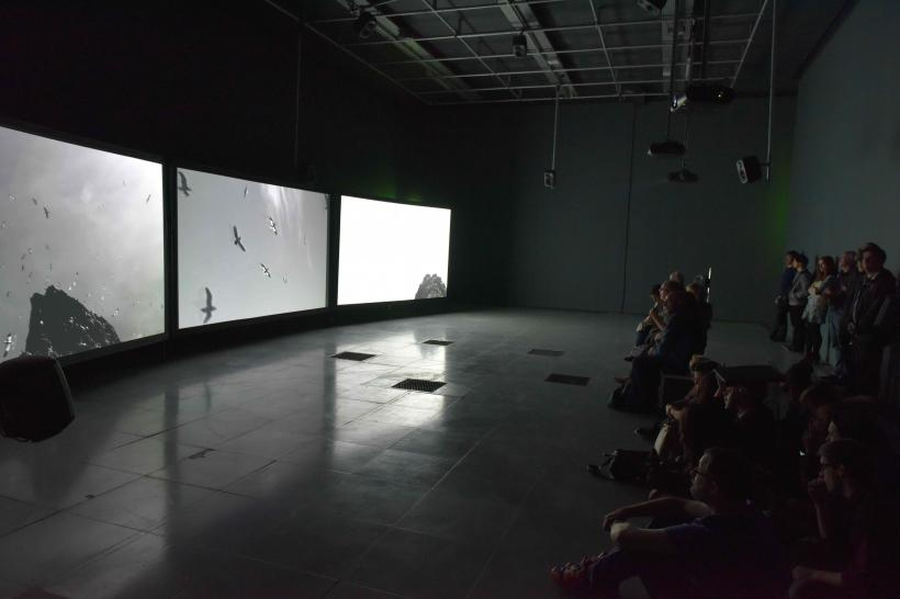 Shona Illingworth: Lesions in the Landscape, installation view at FACT, Liverpool, 2015