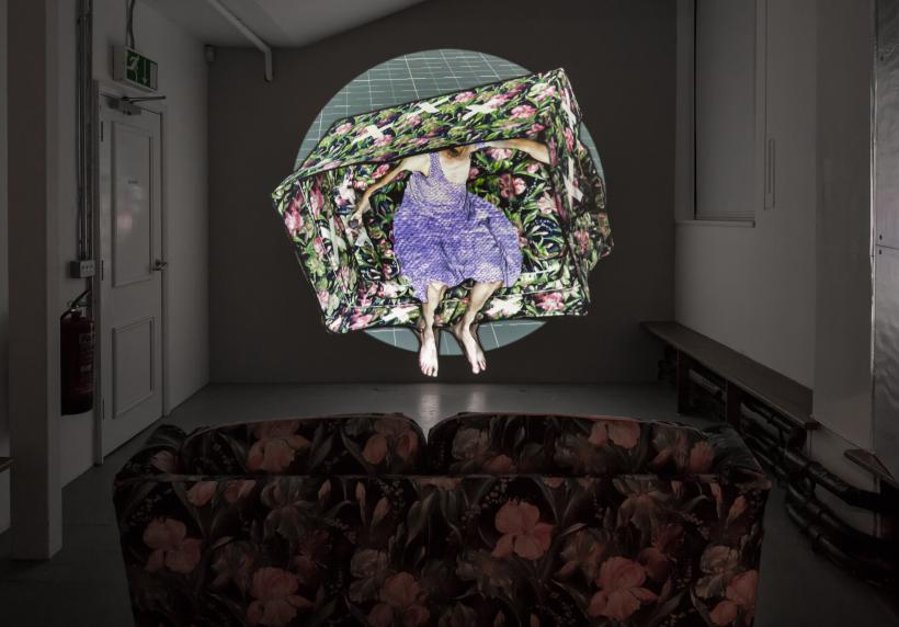 Charles Richardson, HEADBONE installation view, Zabludowicz Collection, London