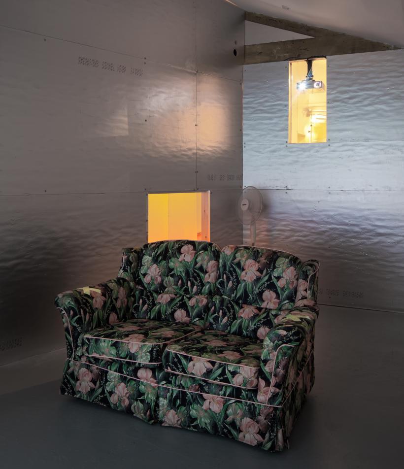 Charles Richardson, HEADBONE installation view, Zabludowicz Collection, London