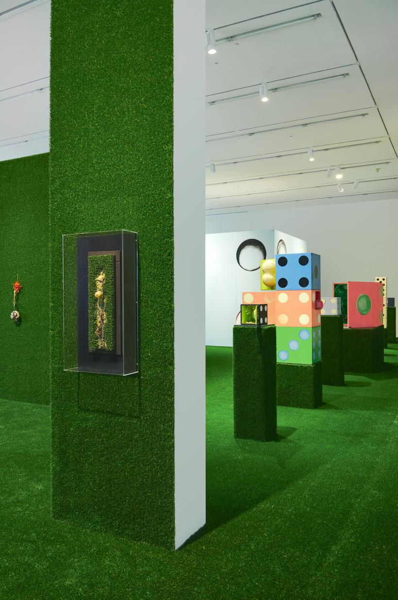 Installation view, Tetsumi Kudo, Hauser and Wirth London, 2015