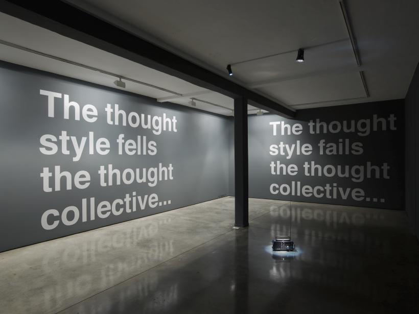 The Thought Style Meets The Thought Collective  exhibition view, ground floor gallery, room 1  Maureen Paley, London