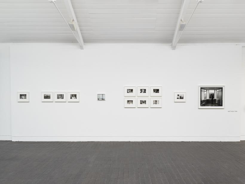 works by Matthew Finn, commissioned through Jerwood/Photoworks Awards 2015, installation view at Jerwood Space, November 2015.