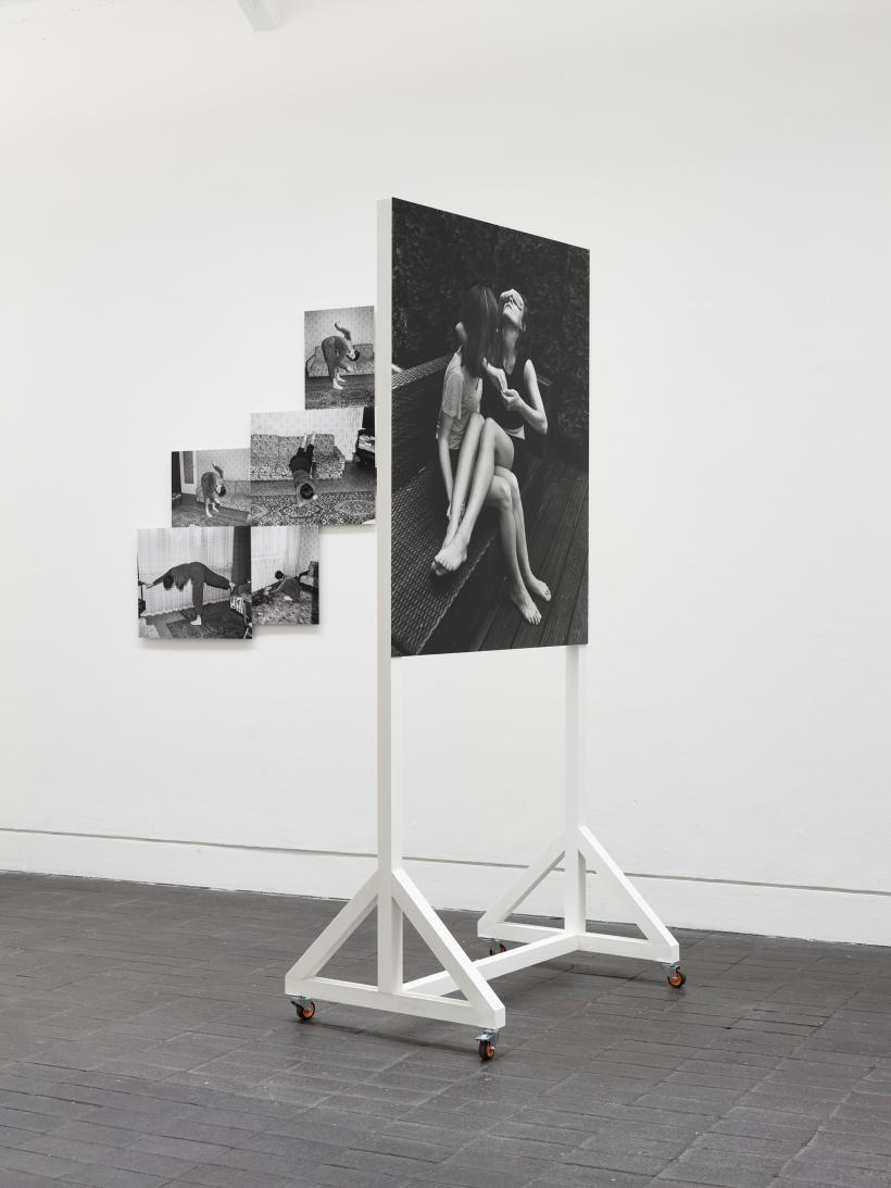 works by Joanna Piotrowska, originally commissioned through Jerwood/Photoworks Awards 2015, installation view at Jerwood Space, November 2015.