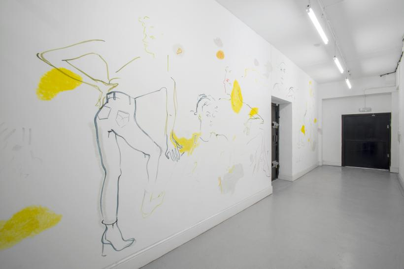France-Lise McGurn & Matthew Musgrave: Only with a light touch will you write well, freely and fast, installation view at David Dale Gallery, 2015