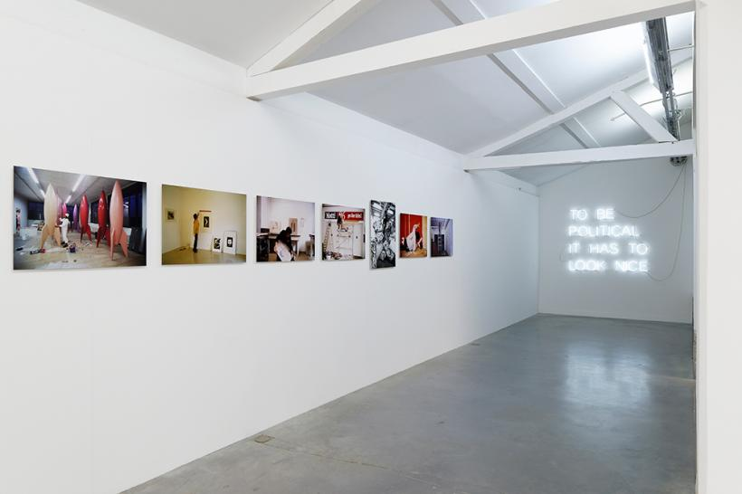 Les ruses de l'intelligence, Installation View