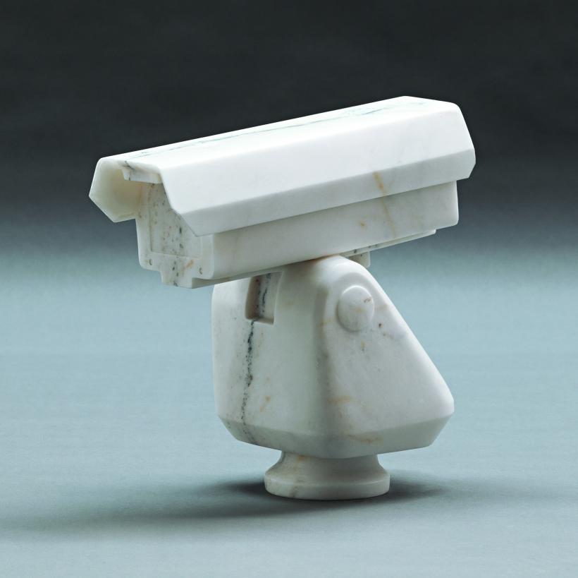 Ai Weiwei, Surveillance Camera, 2010. Marble, 39.2 x 39.8 x 19 cm