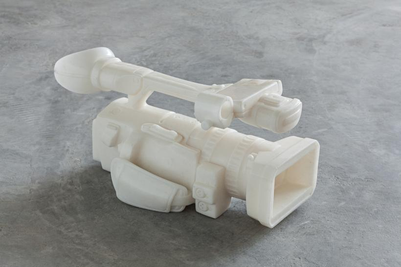 Ai Weiwei, Video Recorder, 2010. Marble, 43 x 19 x 19 cm