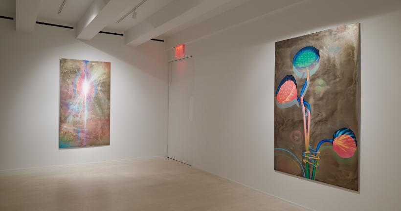 Matthew Weinstein, É Lobro, installation view at Jacob Lewis Gallery, 2015