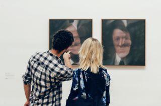 ARTIST ROOMS Gerhard Richter, installation view, 2015