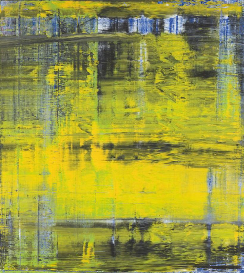 Gerhard Richter. Abstract Painting (809‑3), 1994