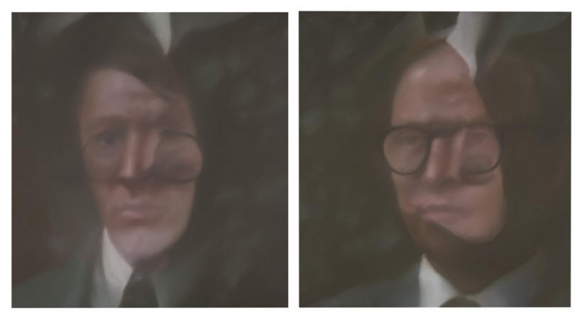 Gerhard Richter. Gilbert, George (381‑1, 381‑2), 1975