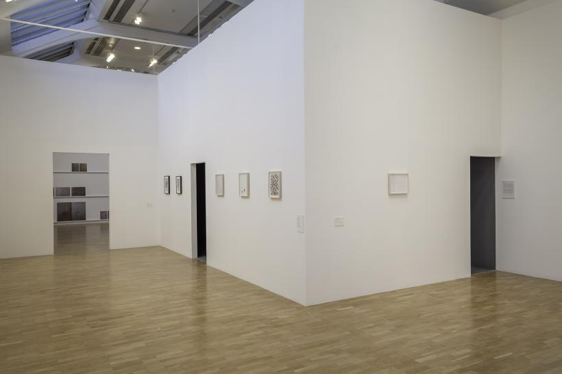 Installation view, Emily Jacir: Europa (Material for a film, 2004 - ) Whitechapel Gallery, London 30 September 2015 - 3 January 2016
