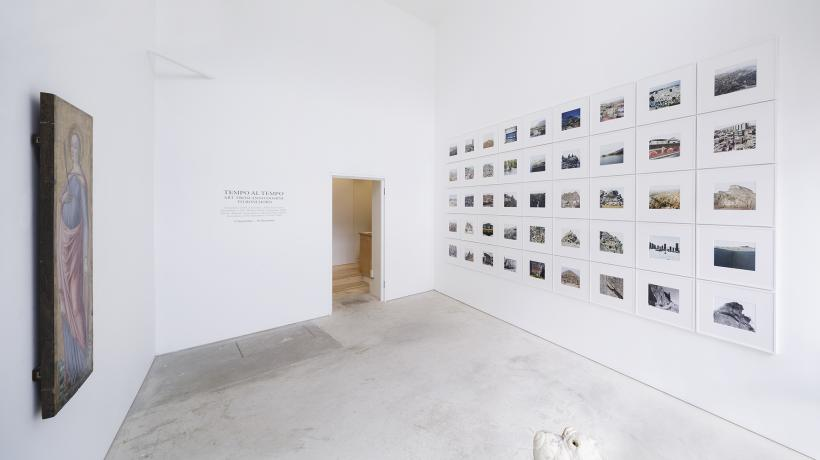 TEMPO AL TEMPO. ART FROM ANNO DOMINI TO RONI HORN, Installation View, Roman Road, London, 2015.
