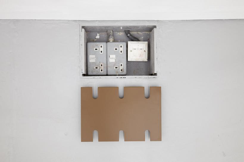 Charlotte Prodger, Insh (2015) Powdercoated aluminium