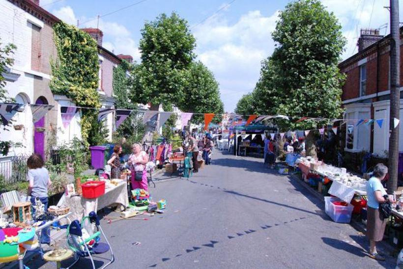 A Granby Four Streets Street Market