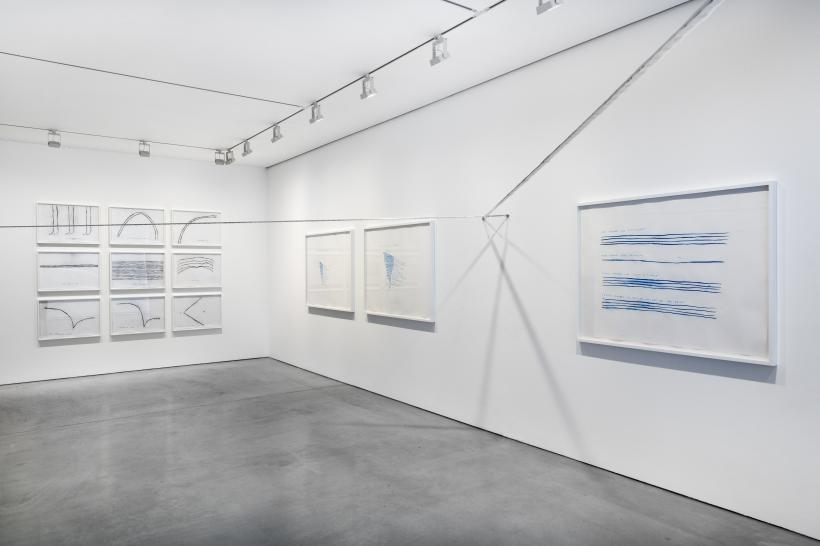 Christine Sun Kim, Rustle Tustle, installation view, Carroll / Fletcher